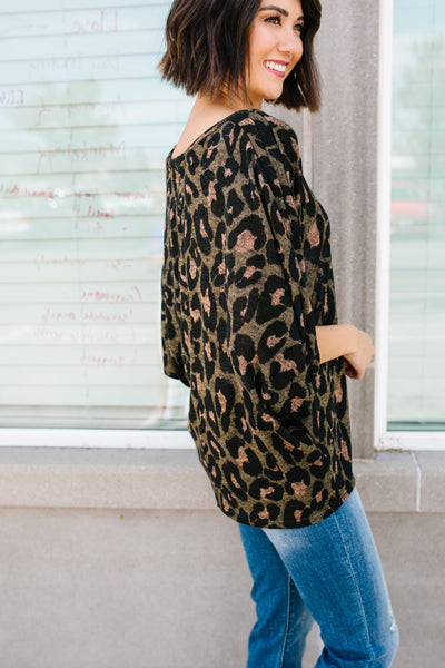 Wild Woman Leopard Blouse