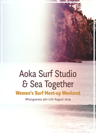 Women's Surf Meet-up Weekend with Aoka Studio x Sea Together Magazine