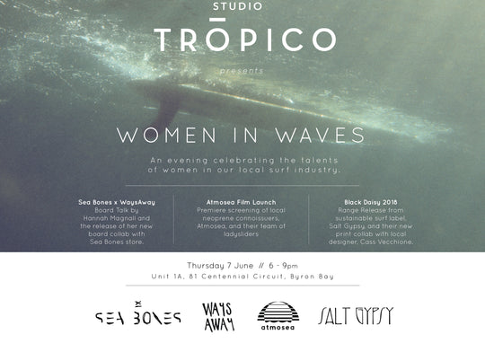 STUDIO TROPICO PRESENTS WOMEN IN WAVES