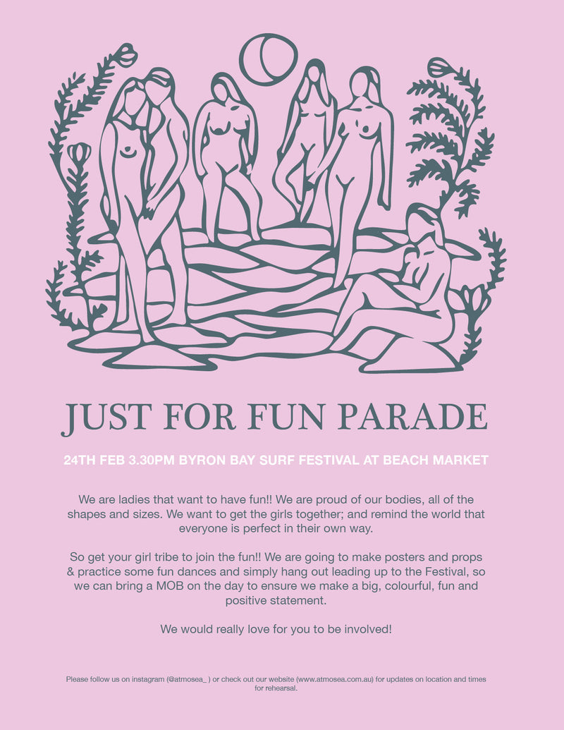 JUST FOR FUN PARADE x BBSF