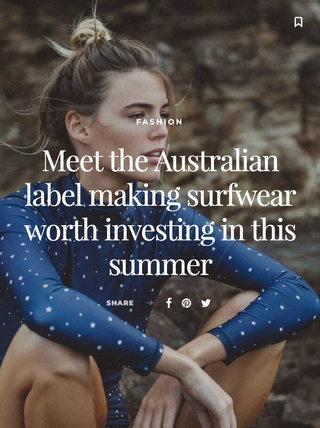 """SURFWEAR WORTH INVESTING IN"" - MILJO.COM.AU"