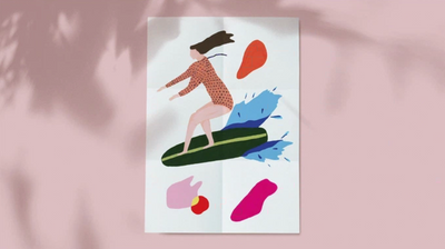 KICKSTARTER ~ Celebrating diverse women surfing through art