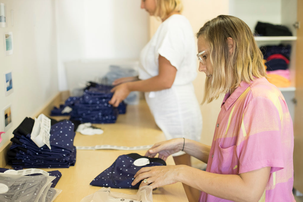 Find out who packs your orders at Salt Gypsy HQ | www.saltgypsy.com #saltgypsy #sustainablesurf #supportsmallbusiness