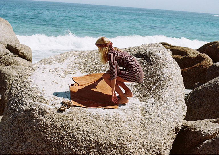 Shades of Summer Campaign by Faithfull The Brand featured on Salt Gypsy | www.saltgypsy.com | Women's surf lifestyle label #saltgypsy #womenwhosurf #faithfullthebrand #apressurf #surffashion