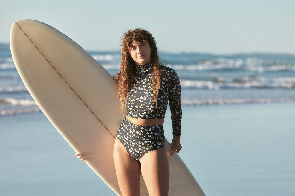 Salt Gypsy launches new range: Black Daisy 2018 | www.saltgypsy.com #saltgypsy #sustainableswimwear #styleinthelineup