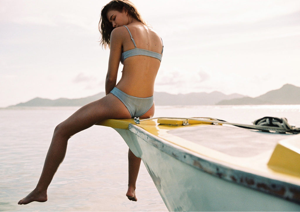 Seychelles Swim campaign by Faithfull The Brand featured on Salt Gypsy blog | www.saltgypsy.com | Women's surf lifestyle label #saltgypsy #womenwhosurf #apressurf #fashion #styleinthelineup