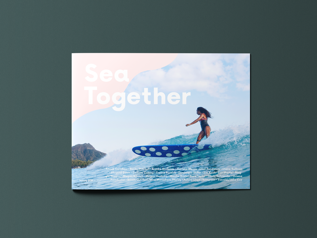 Sea Together Magazine USA - Kickstarter Campaign featured now on www.saltgypsy.com | #saltgypsy #womenwhosurf