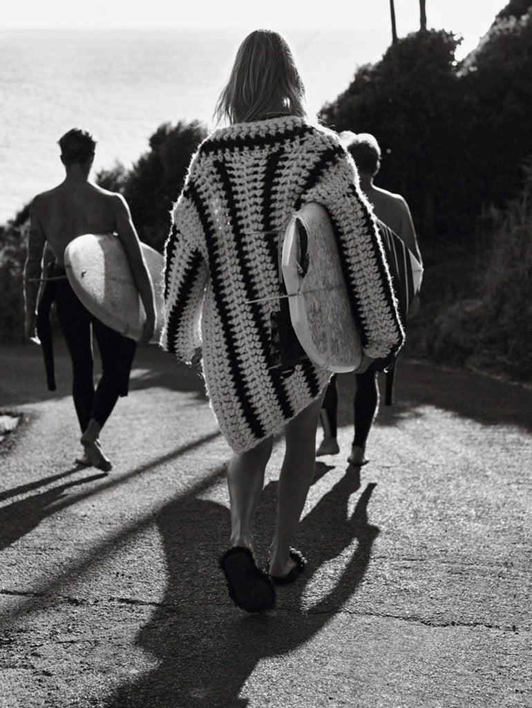 Sofie Hemmett shot by Gregory Harris for Vogue Paris. Apres surf style #saltgypsy
