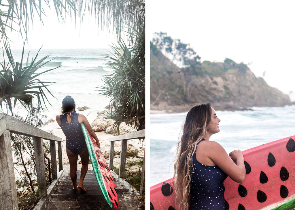 Stephanie Schecter x Jemma Scott roadtest Salt Gypsy sustainable surfwear | www.saltgypsy.com #saltgypsy #styleinthelineup #surffashion