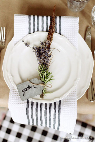 lavender, table setting, decor