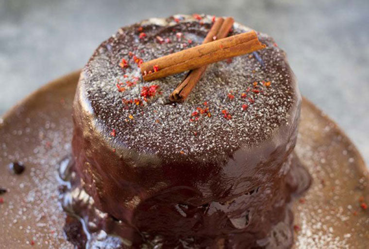 Click & Grow Guide To Beer And Food Pairing: GLUTEN FREE CHOCOLATE CAKE WITH CINNAMON & CHILLI Recipe by The Tomato Tart