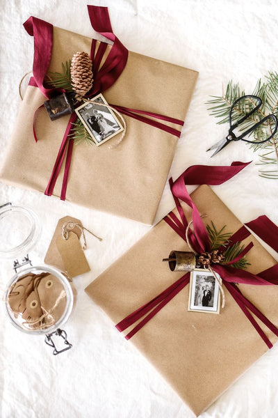 gift wrapping, holidays, spruce