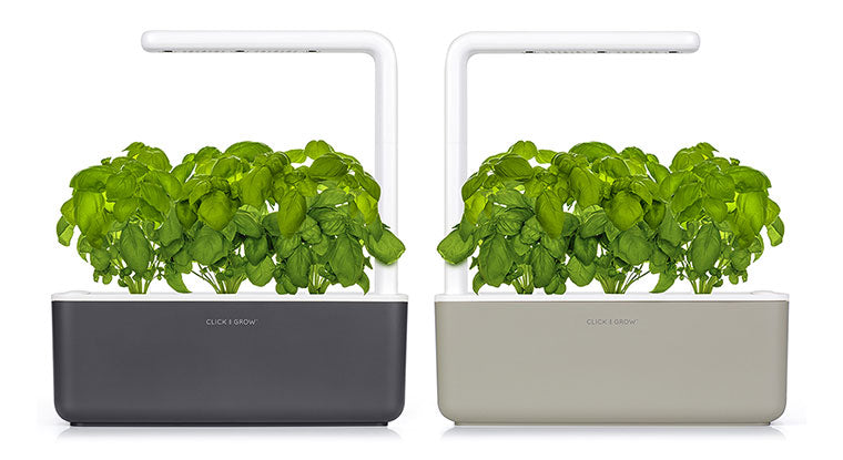 Click & Grow Smart Garden in Dark Grey and Beige