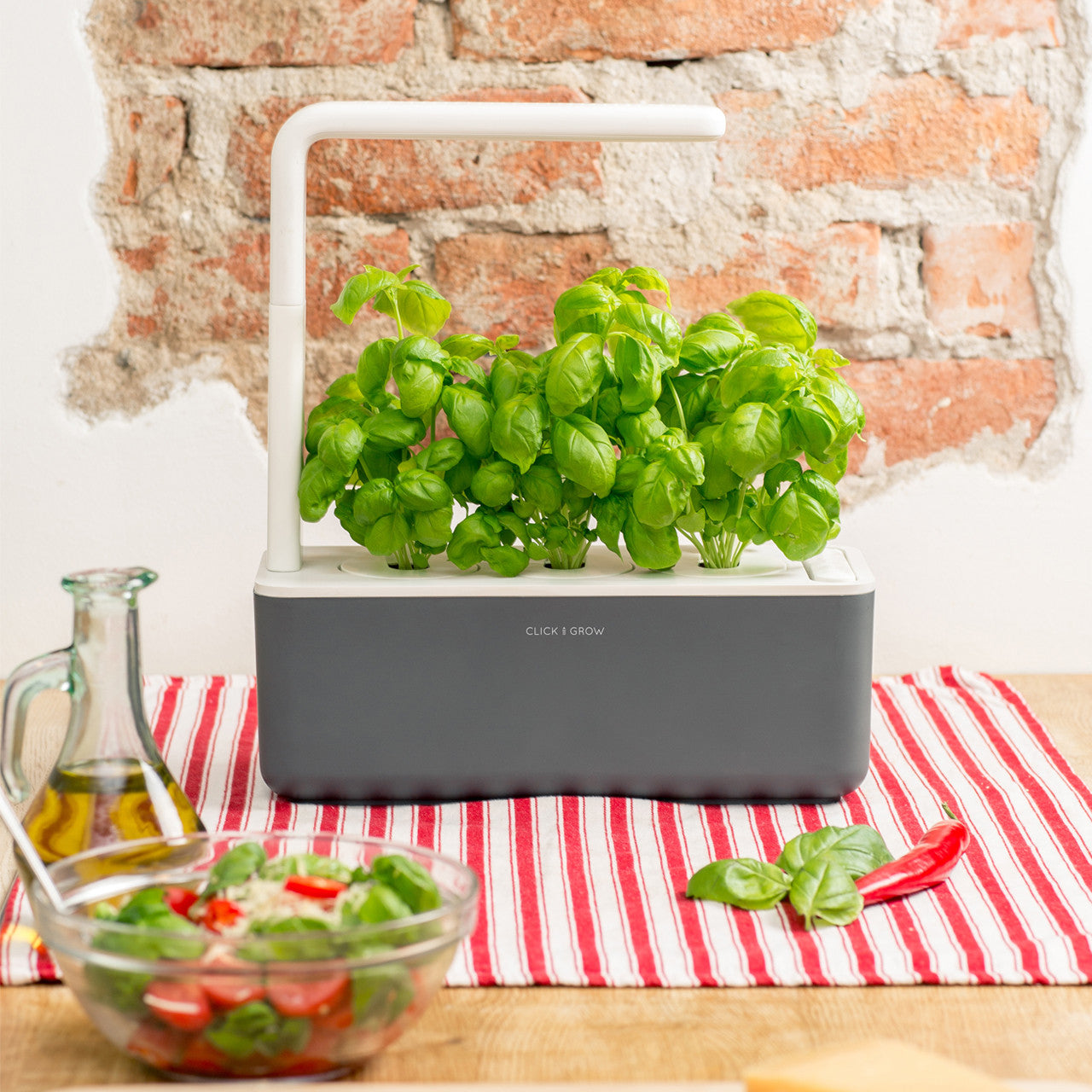 Grow fresh food at home with the Click & Grow Smart Garden 3.