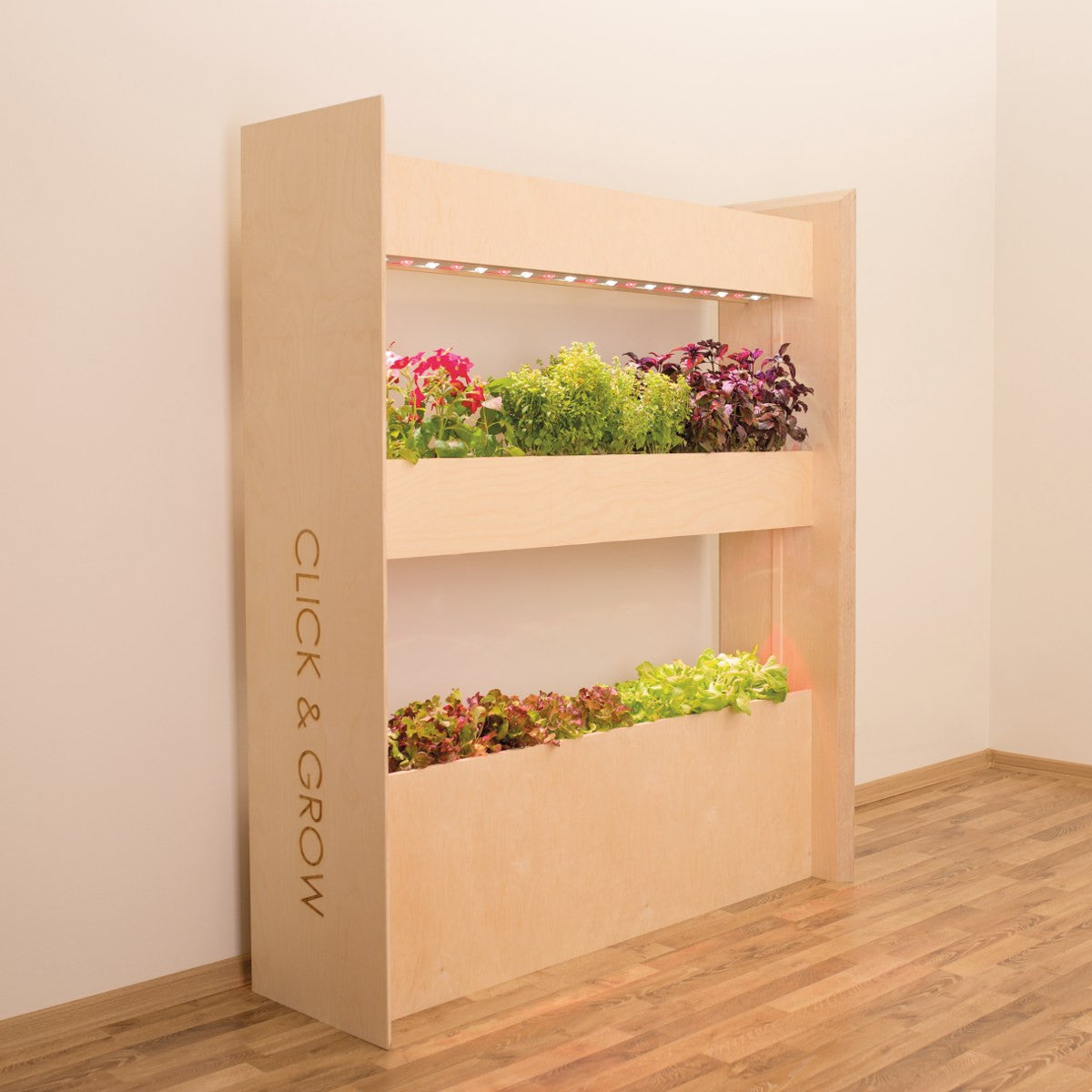 Wall Farm Mini by  Click & Grow. The most advanced and easiest indoor vertical gardening solution.