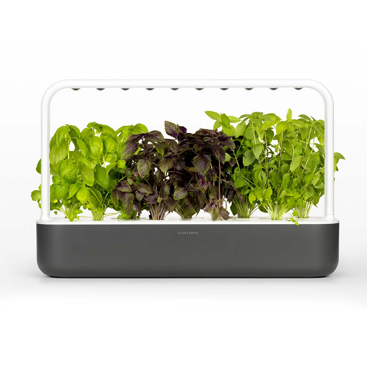 Grow plants at home with Click & Grow indoor garden.