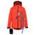 BOLLI-Innovative-Outdoor-Dog-Owner-Jacket-Women-Red-Anthracite-Front