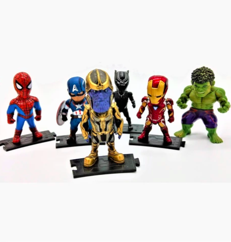 Avenger action figures at Prodigy Toys