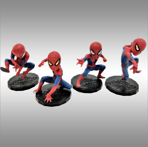 Spider-Man Toys Featuring Spider-Man Action Figures And Your Neighborhood Hero (4 in 1 Set) - Prodigy Toys