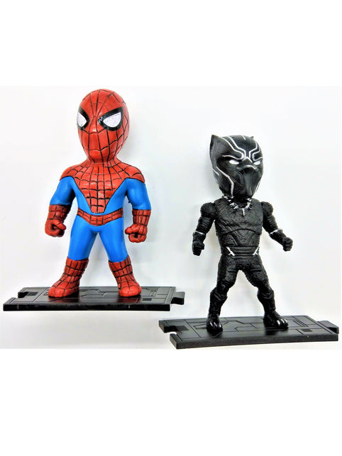 Spider-Man Action Figure with Web Shooter (Comes with a Stand) - Prodigy Toys