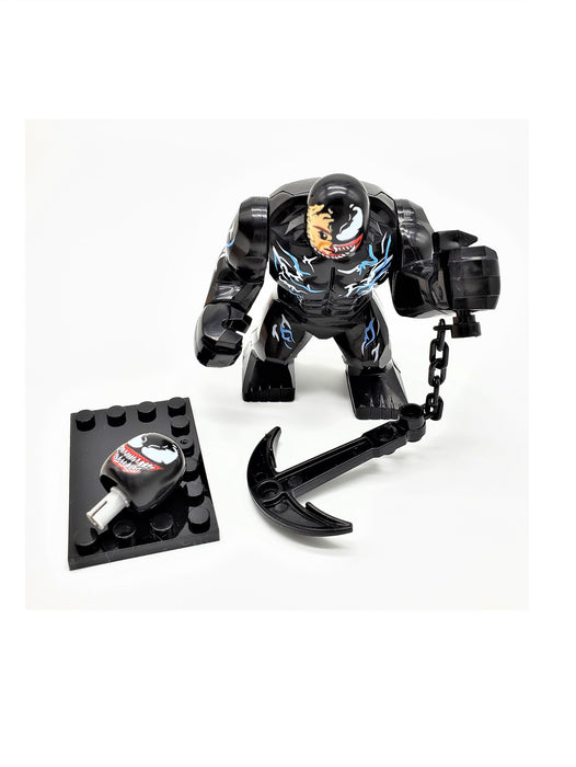 Venom Mini Action Figure Toy Set (Comes with Weapon and Interchangeable Heads) - Prodigy Toys
