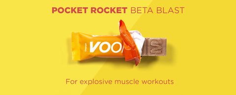 Pocket Rocket Beta Blast for explosive workouts