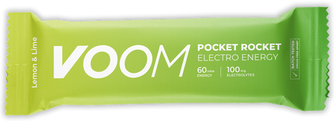 Voom Pocket Rocket Energy bar - an alternative to an energy gel