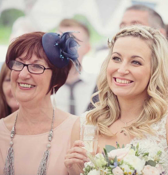 Kate O'Callaghan who is fundraising for Myeloma UK, alongside her mother who sadly passed away in January 2021.