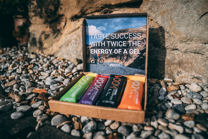 Energy bar taster pack - Voom gives twice the power of a gel