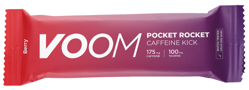 Pocket Rocket Caffeine Kick Energy Bar