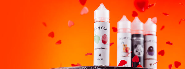 Velvet Cloud vaping liquid flavors
