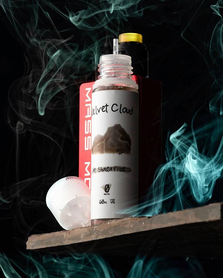 Velvet Cloud e-juice Mt Shasta Frost