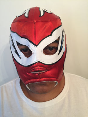 10008 - Luchador Mask - Silver King
