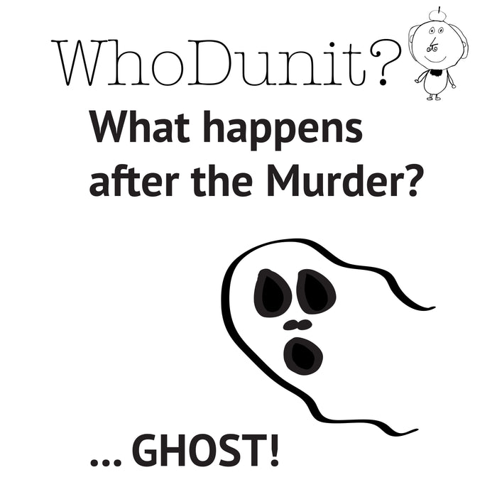 5004 - Mystery T-shirt - Ghost!
