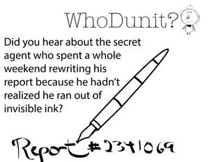 5011 - Mystery T-Shirt - Invisible Ink Report