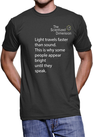 9008 - The Scientized Dimension - Light Travels faster than Sound...