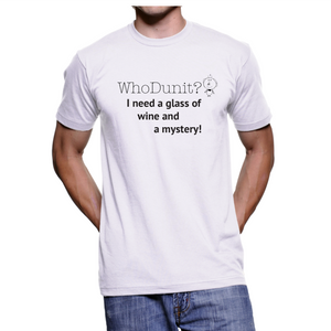 5003 - Mystery T-shirt - Glass of Wine Anyone?