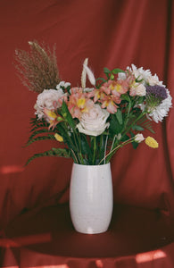 Large Speckled Bouquet Vase