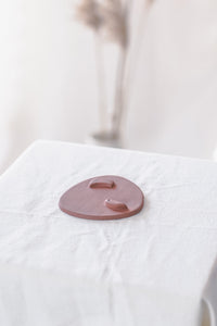 Triangle Incense dish - Red Clay