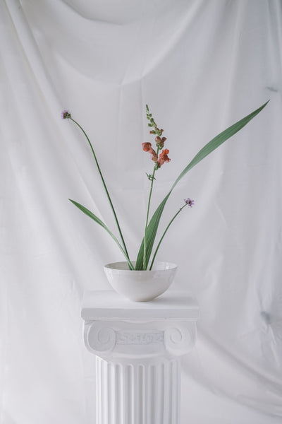 Porcelain Ikebana Set