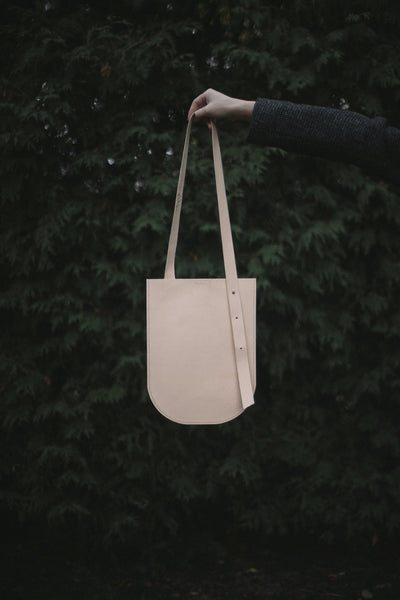Veg-tanned Leather Tote