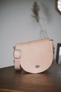 Veg Tan Saddle Bag