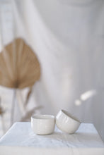 Load image into Gallery viewer, Chattered Sake Cups - Pair