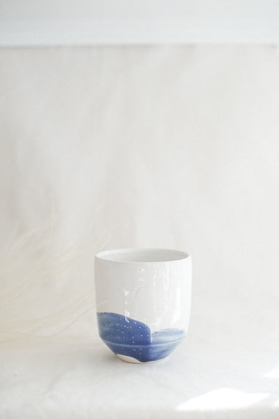 Blue Swoosh Cup- Seconds