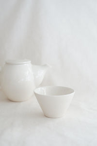 Small Porcelain Flare Cup