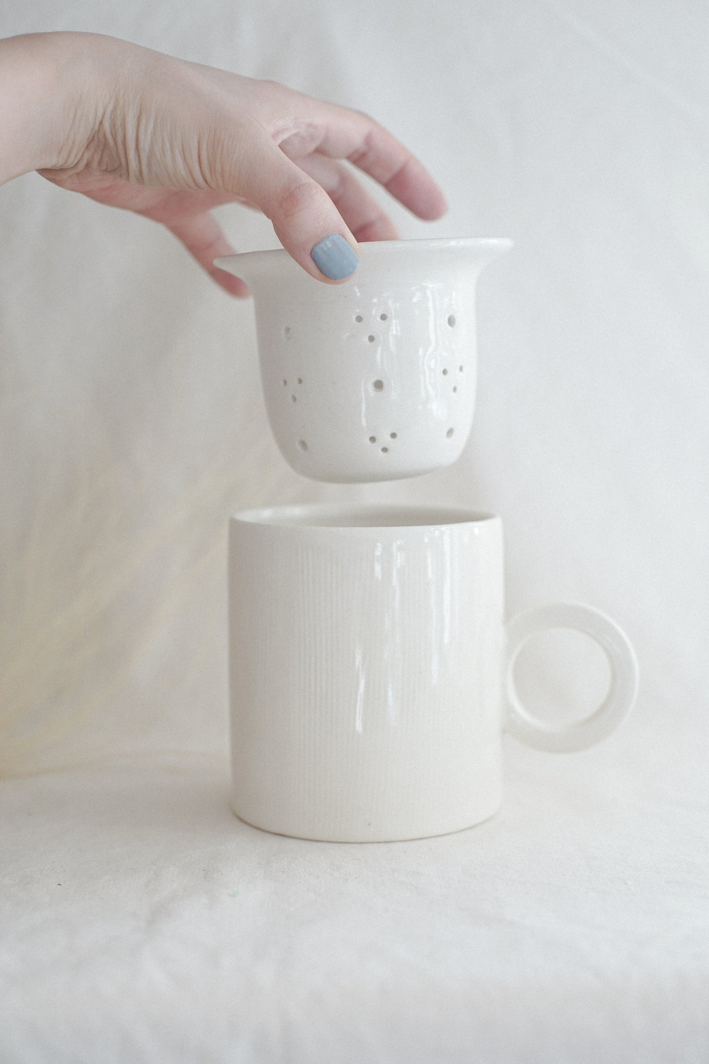 Large Porcelain Tea Set - Seconds