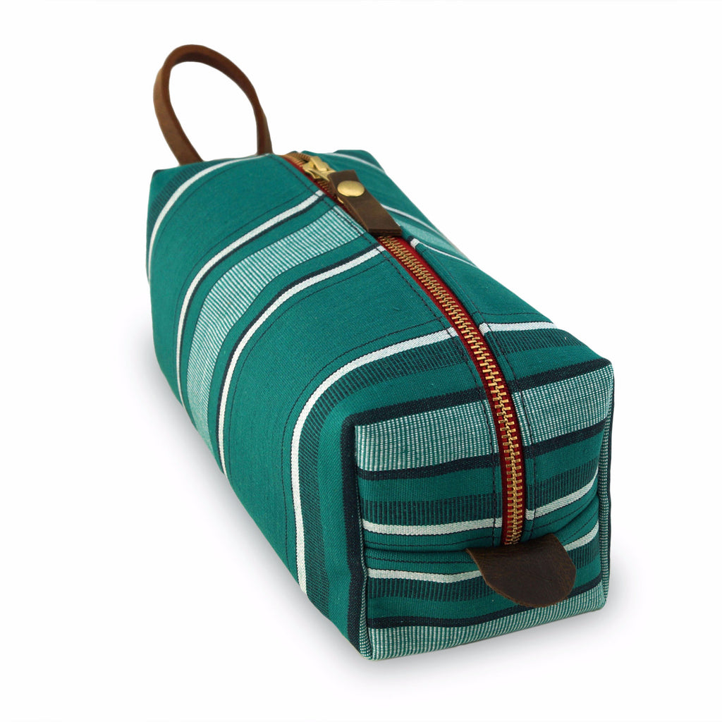 General Knot Co Travel Bag Dopp Mollyjogger Awning Stripe USA