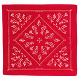 mess of trout bandana red cotton hand-crafted mollyjogger