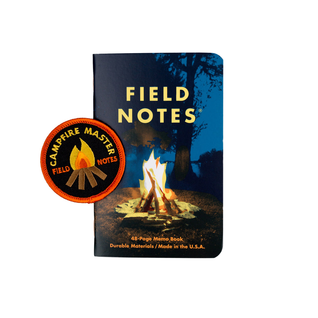 Field Notes Campfire Edition 3 Pack Mollyjogger Patch memo book