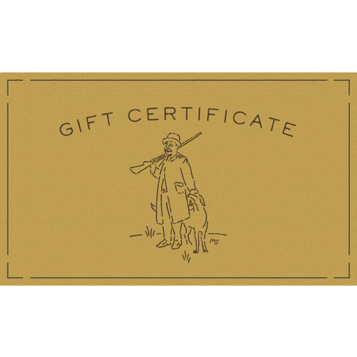 Mollyjogger Gift Card Certificate